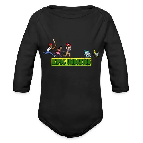 Epic Unboxing The Chase - Organic Long Sleeve Baby Bodysuit