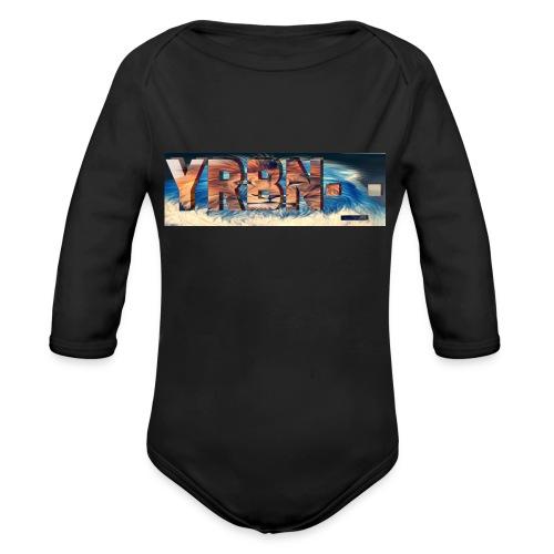 YRBN'S Merch - Organic Long Sleeve Baby Bodysuit