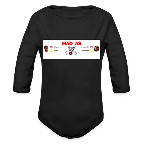 Banner - Organic Long Sleeve Baby Bodysuit