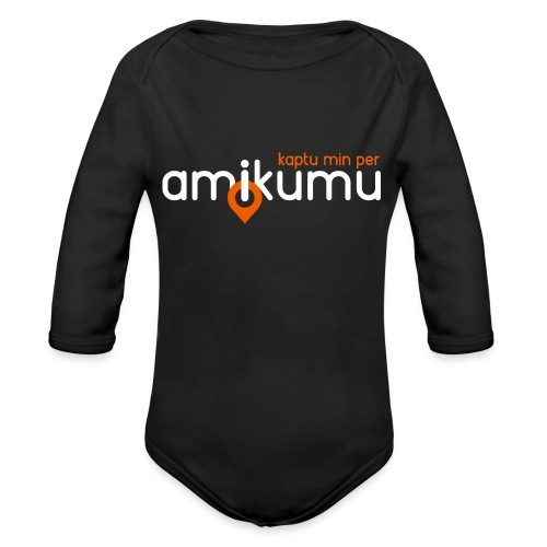 Kaptu min per Amikumu Blanka - Organic Long Sleeve Baby Bodysuit