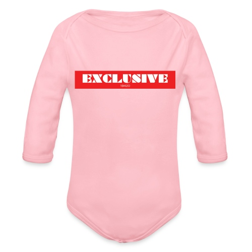 exclusive - Organic Long Sleeve Baby Bodysuit