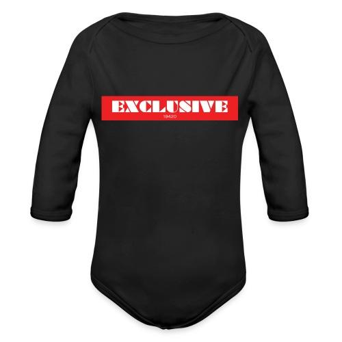 exclusive - Organic Long Sleeve Baby Bodysuit