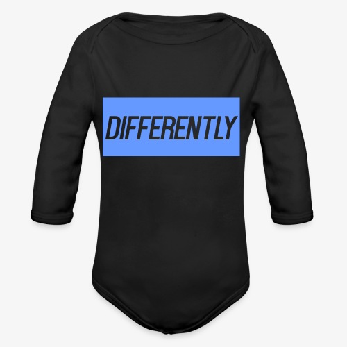 Differently Large Bogo - Organic Long Sleeve Baby Bodysuit