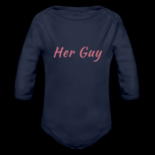 Her Guy - Organic Long Sleeve Baby Bodysuit