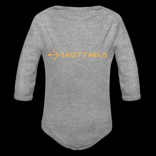 Sagittarius - Organic Long Sleeve Baby Bodysuit