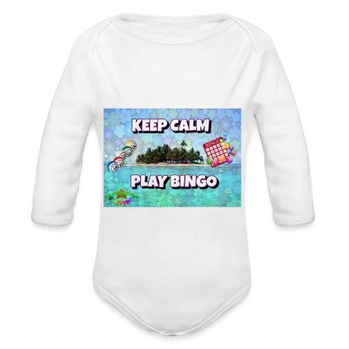 SELL1 - Organic Long Sleeve Baby Bodysuit