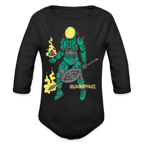 Afronaut - Organic Long Sleeve Baby Bodysuit