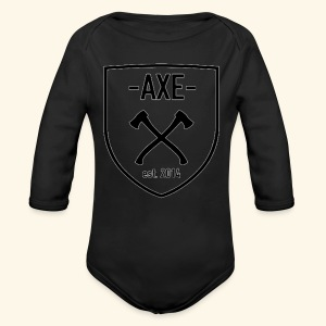 The AXE - Long Sleeve Baby Bodysuit