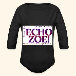 Echo Zoe - Long Sleeve Baby Bodysuit