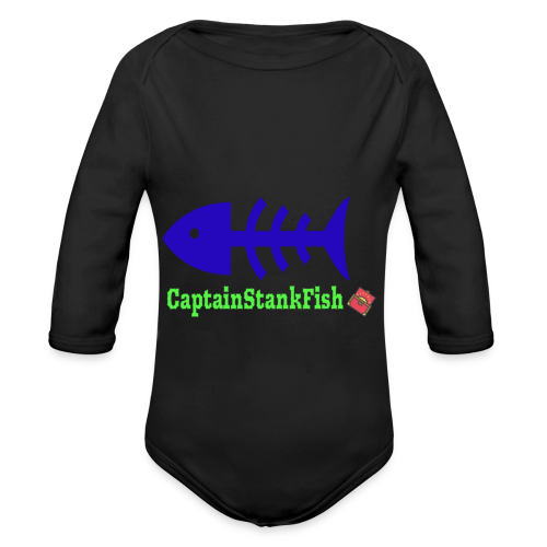 A Shirt for a Stanky Person - Organic Long Sleeve Baby Bodysuit