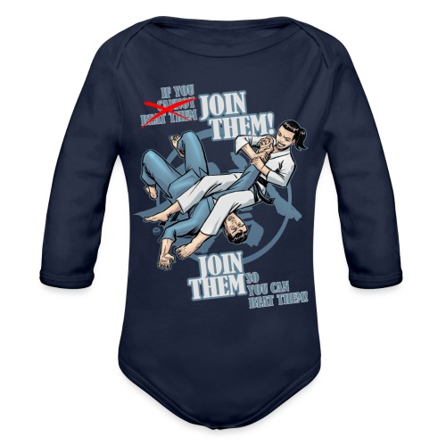 Join Them - Organic Long Sleeve Baby Bodysuit