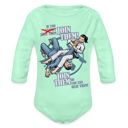 Join Them - Organic Long Sleeve Baby Bodysuit