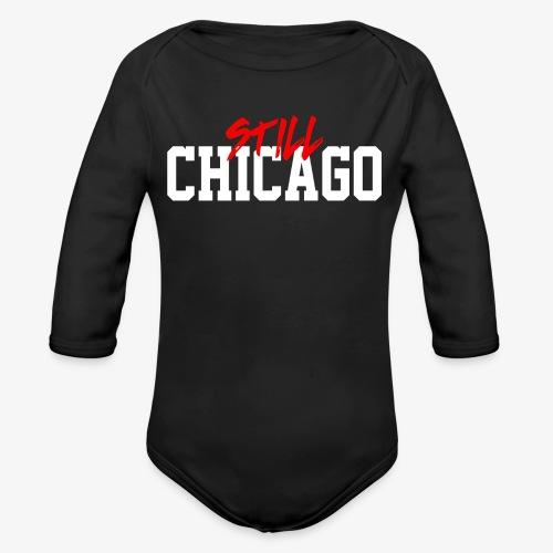 Chicago 4ever - Organic Long Sleeve Baby Bodysuit