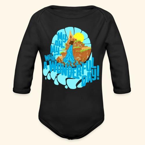 splashMT2 - Organic Long Sleeve Baby Bodysuit