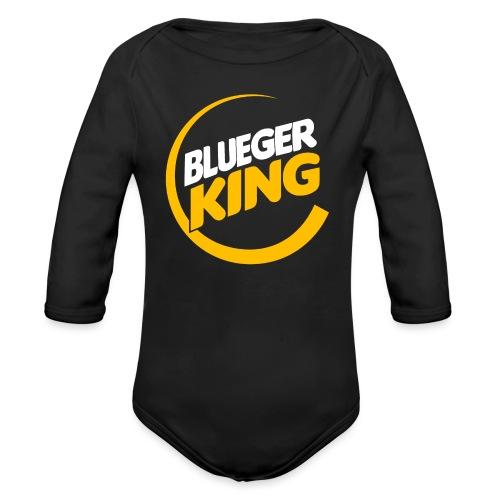Blueger King - Organic Long Sleeve Baby Bodysuit