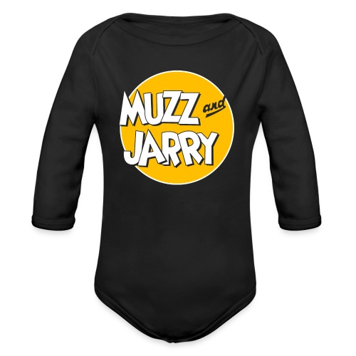 Muzz and Jarry - Organic Long Sleeve Baby Bodysuit