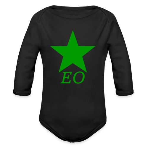 EO and Green Star - Organic Long Sleeve Baby Bodysuit