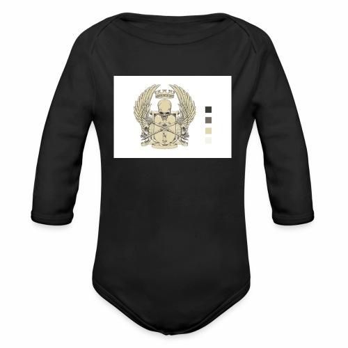 CREST HOODIE - Organic Long Sleeve Baby Bodysuit