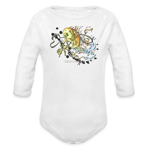 Tattoofreak - Organic Long Sleeve Baby Bodysuit