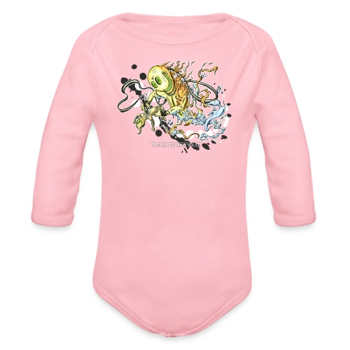 Tattoofreak - Organic Long Sleeve Baby Bodysuit