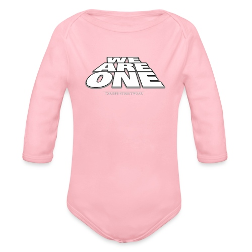 We are One 2 - Organic Long Sleeve Baby Bodysuit
