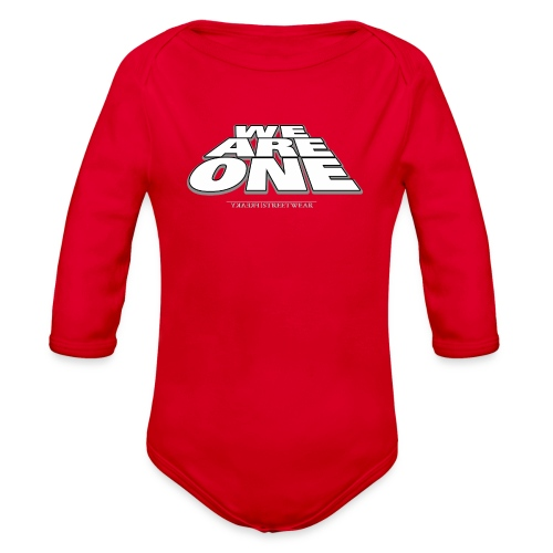 We are One 2 - Organic Long Sleeve Baby Bodysuit