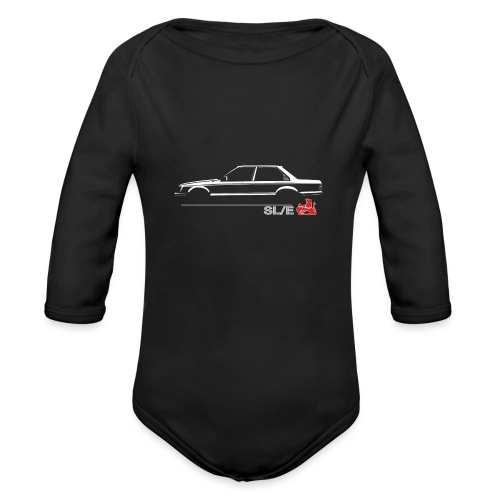 VH SLE EMBLEM - Organic Long Sleeve Baby Bodysuit