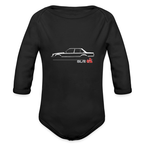 VB VC EMBLEM - Organic Long Sleeve Baby Bodysuit