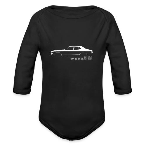 XB 351 EMBLEM - Organic Long Sleeve Baby Bodysuit