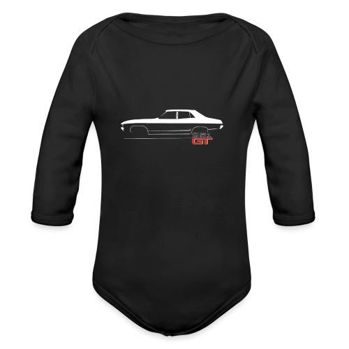 XA EMBLEM - Organic Long Sleeve Baby Bodysuit