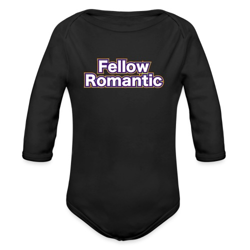Fellow Romantic - Organic Long Sleeve Baby Bodysuit