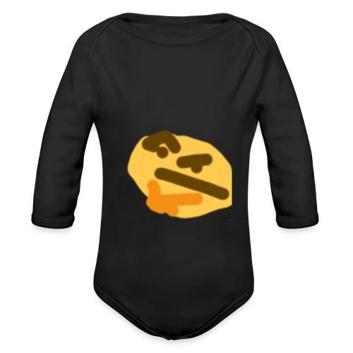 Weird baby - Organic Long Sleeve Baby Bodysuit