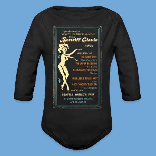 Bertriff Glavin - Color - Organic Long Sleeve Baby Bodysuit