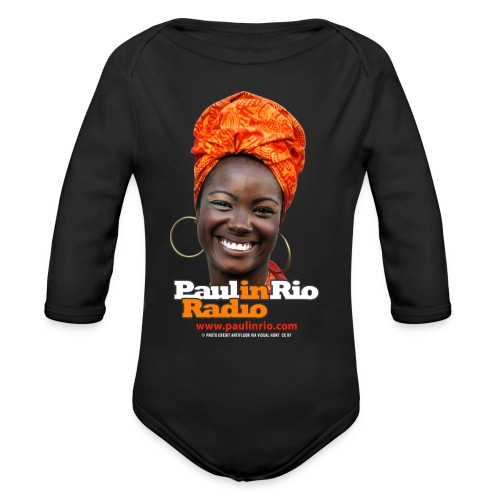 Paul in Rio Radio - Mágica garota - Organic Long Sleeve Baby Bodysuit