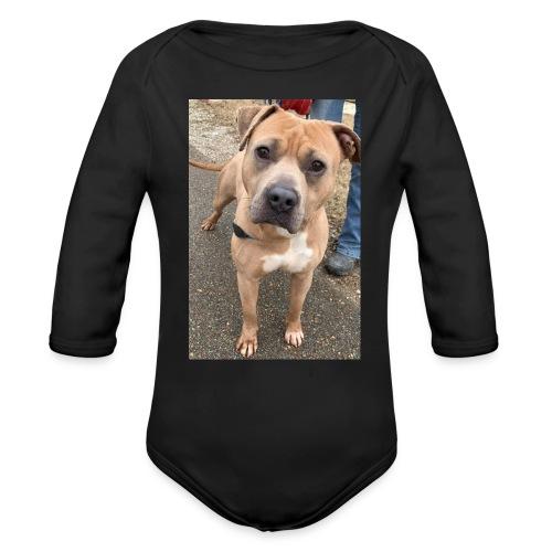 Brute Pup - Organic Long Sleeve Baby Bodysuit