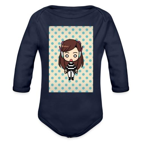 gg - Organic Long Sleeve Baby Bodysuit