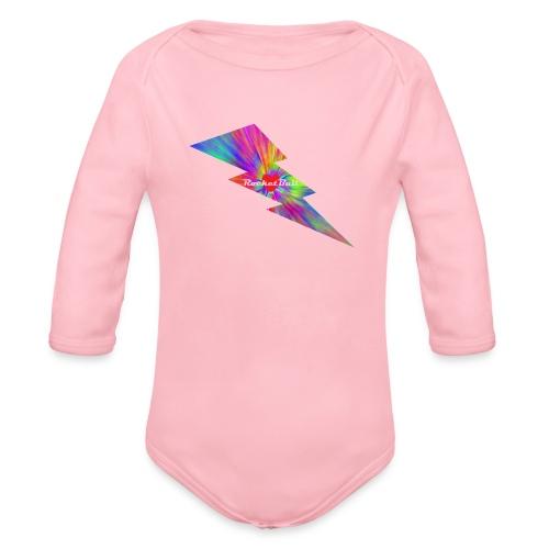 RocketBull X E - Organic Long Sleeve Baby Bodysuit