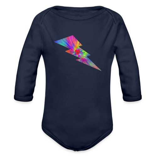 RocketBull X E - Organic Long Sleeve Baby Bodysuit