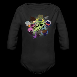 Overplayed Squad - Long Sleeve Baby Bodysuit