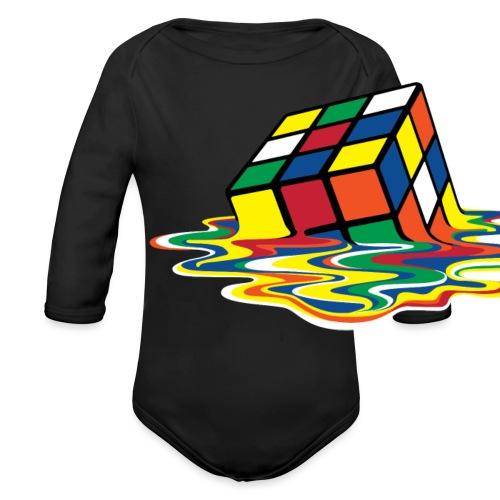 meltingcube - Organic Long Sleeve Baby Bodysuit