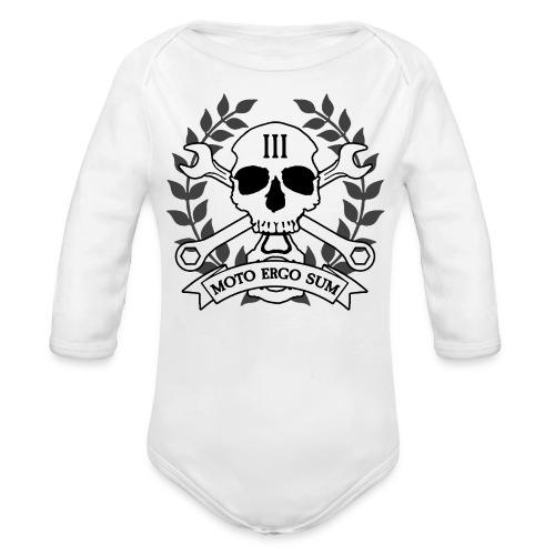 Moto Ergo Sum - Organic Long Sleeve Baby Bodysuit