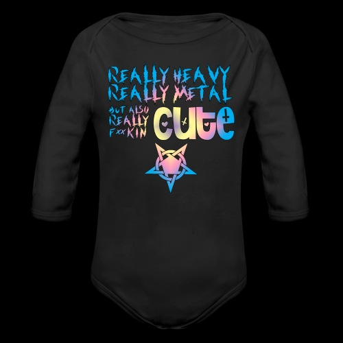 Really Cute - Organic Long Sleeve Baby Bodysuit
