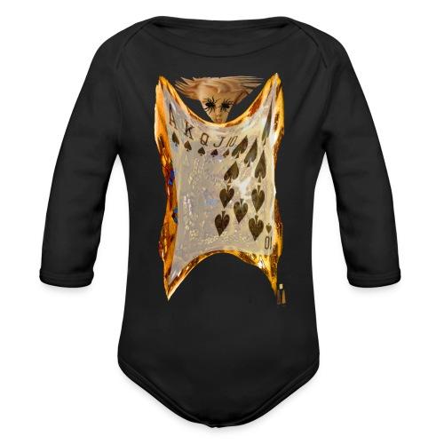 All In - Organic Long Sleeve Baby Bodysuit