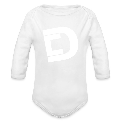 DrewskysChannel Youtube Logo - Organic Long Sleeve Baby Bodysuit