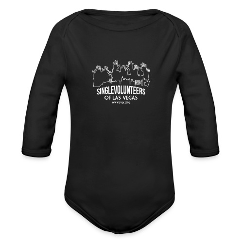 SingleVolunteers - Organic Long Sleeve Baby Bodysuit