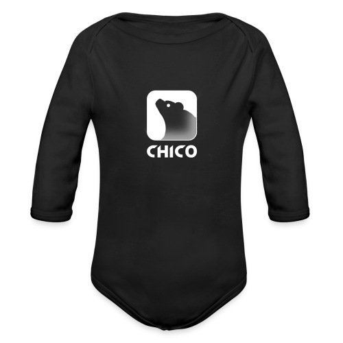 Chico's Logo with Name - Organic Long Sleeve Baby Bodysuit