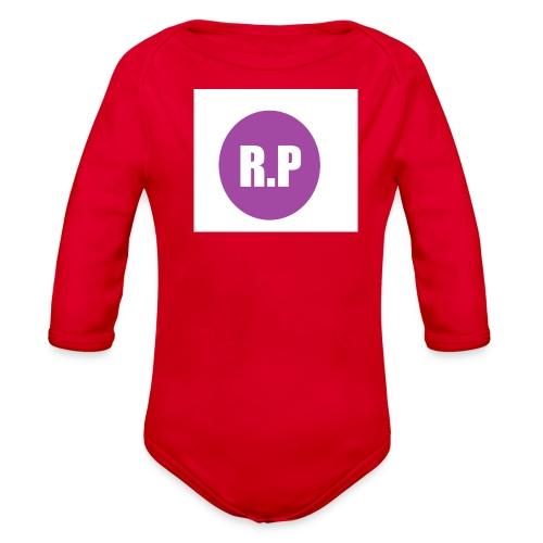 RYLEE 3 png - Organic Long Sleeve Baby Bodysuit