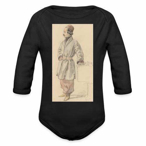 rs portrait sp 01 - Organic Long Sleeve Baby Bodysuit