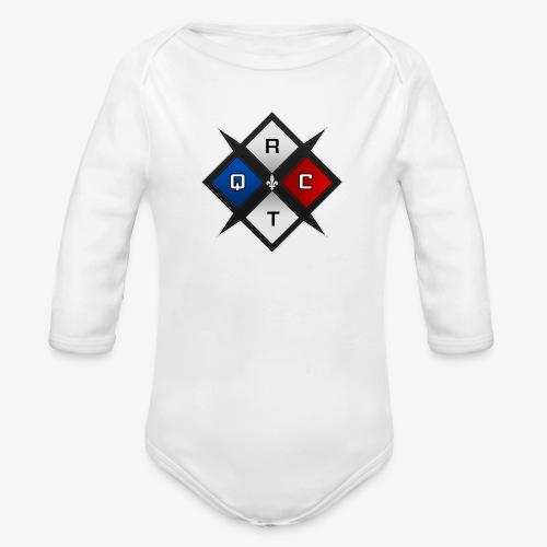 RTQC Logo - Organic Long Sleeve Baby Bodysuit