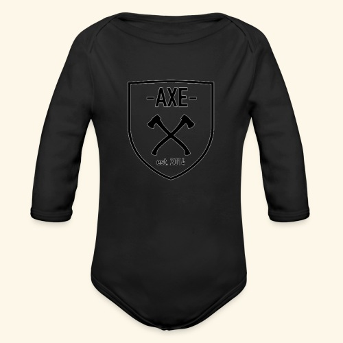 The AXE - Organic Long Sleeve Baby Bodysuit